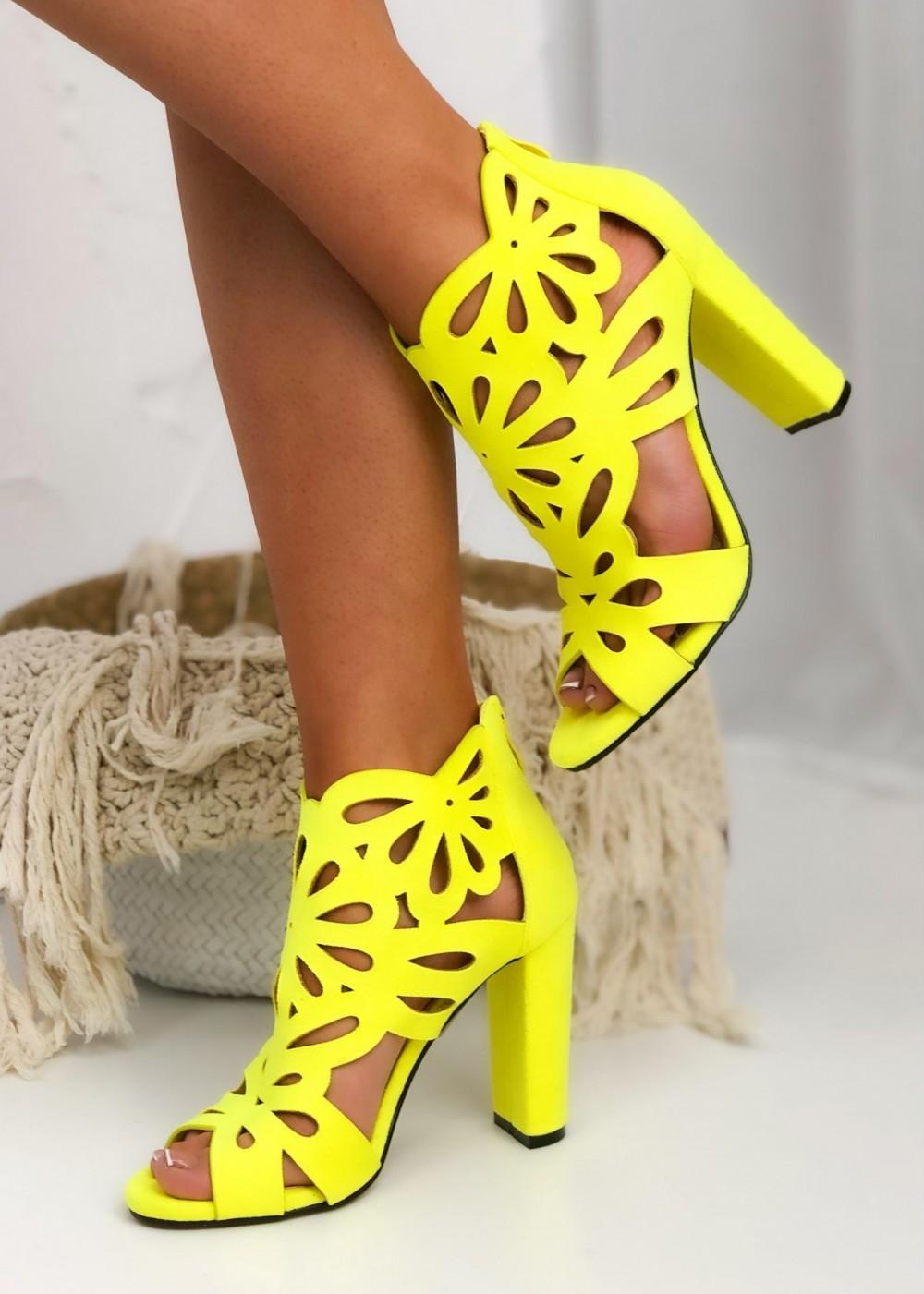 SANDAŁKI NOEMI - yellow
