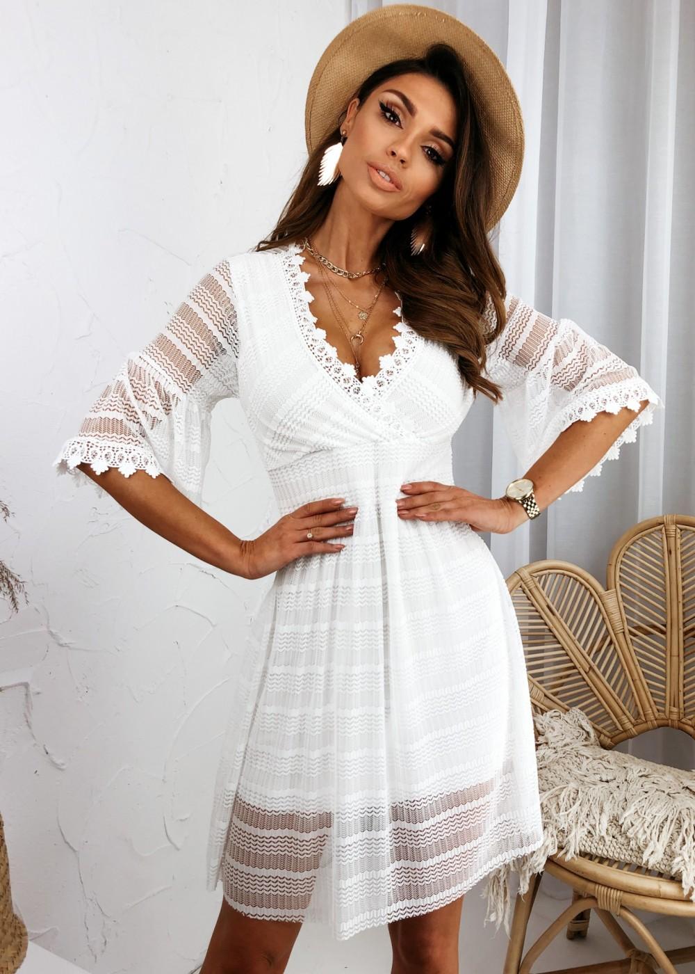 SUKIENKA LOVELLY - white