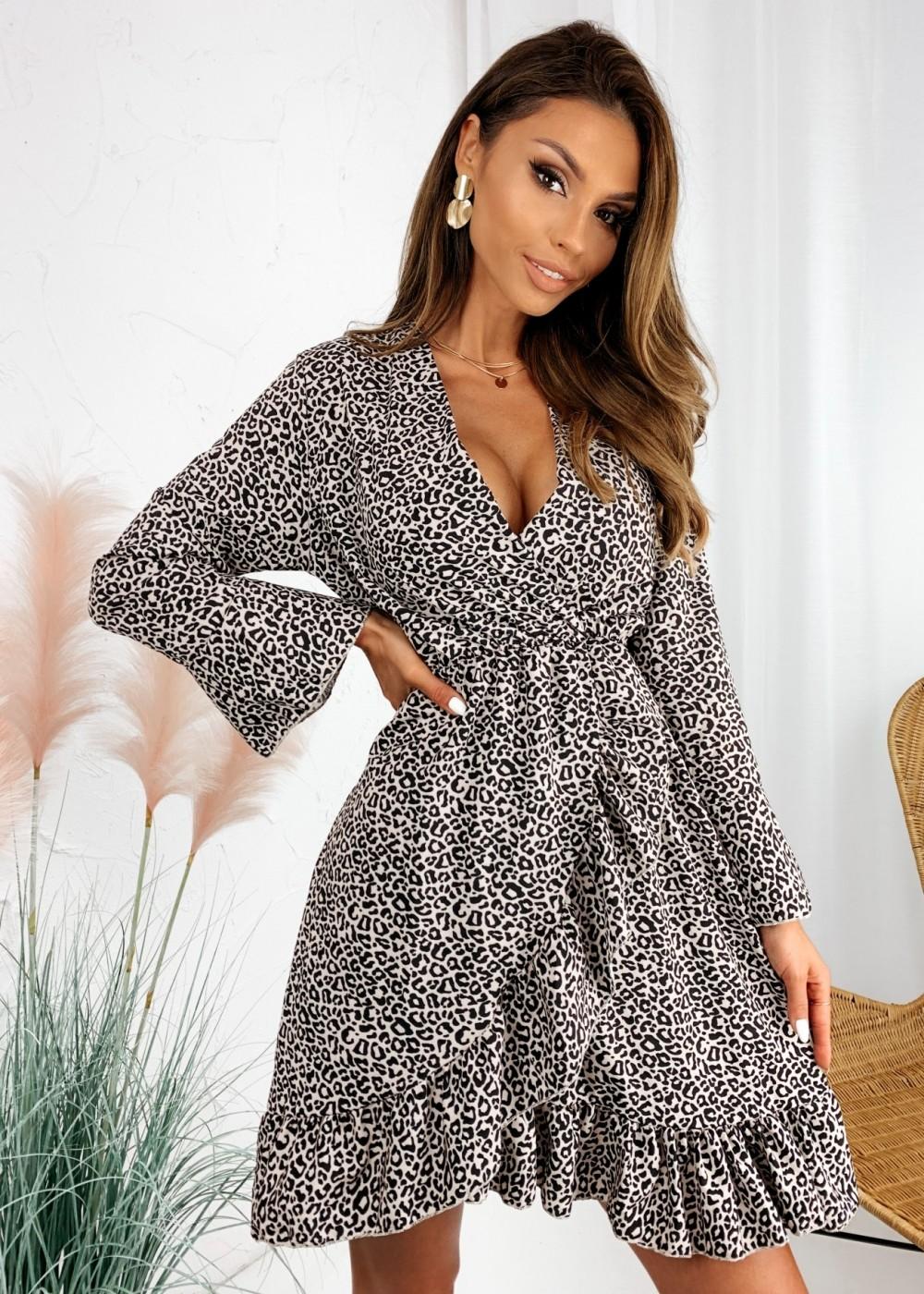 SUKIENKA DIANA - leopard