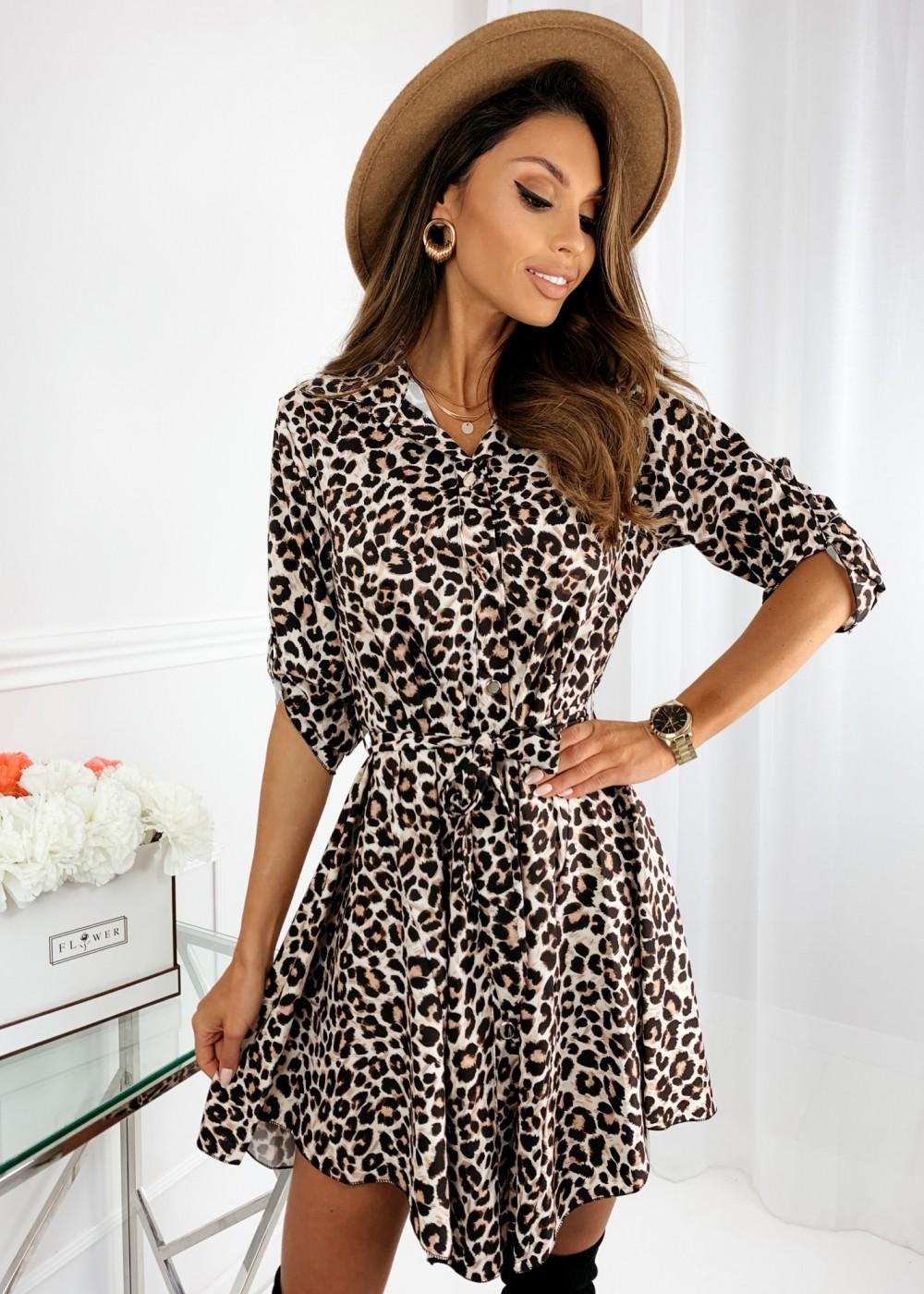 SUKIENKA LOLIA - leopard