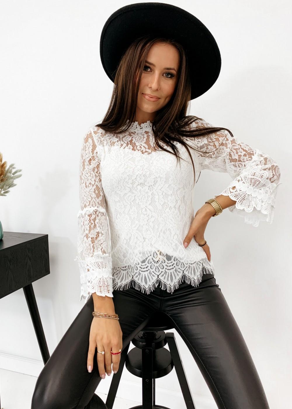 BLUZKA AURORA - white
