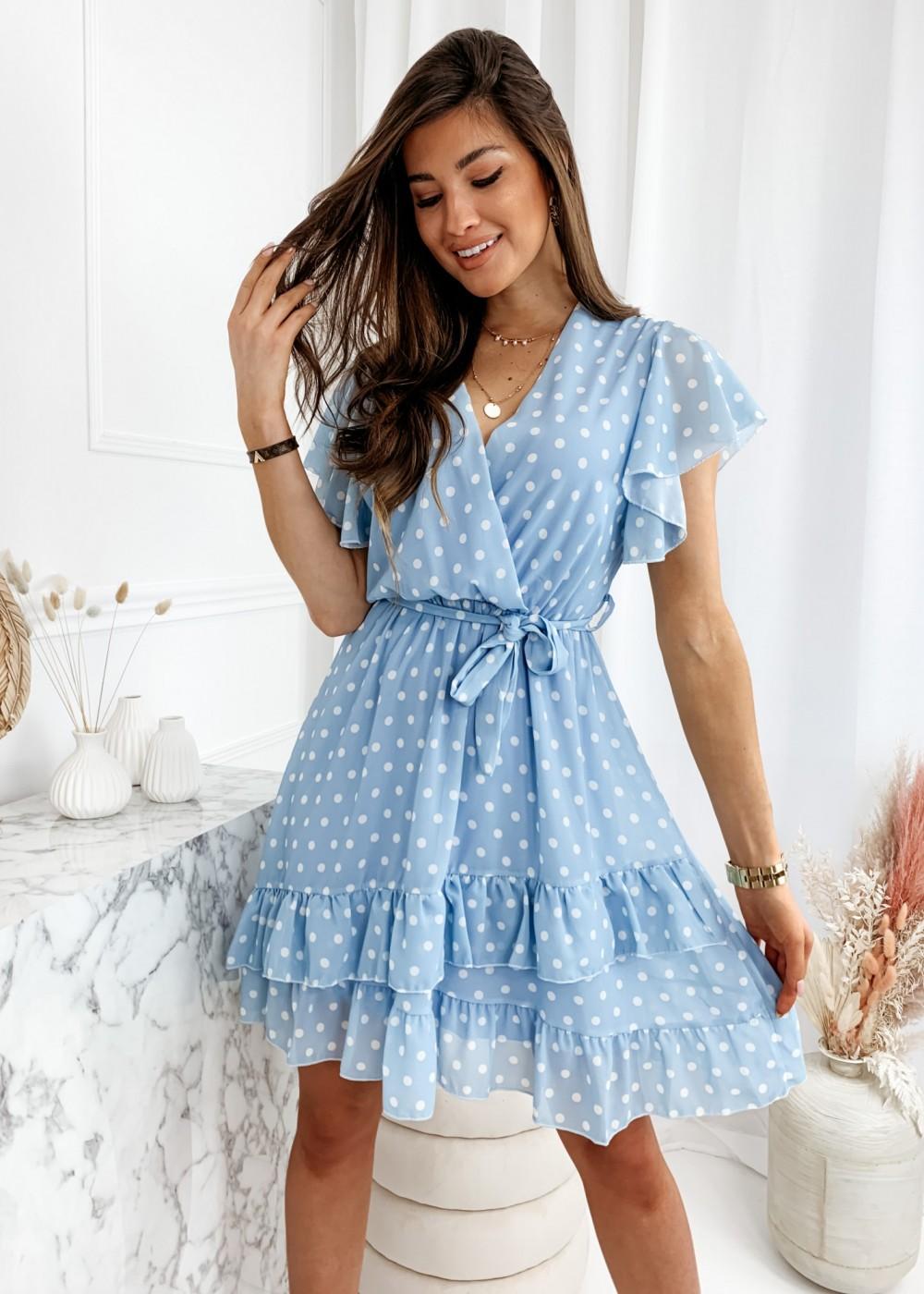 SUKIENKA NINA - baby blue