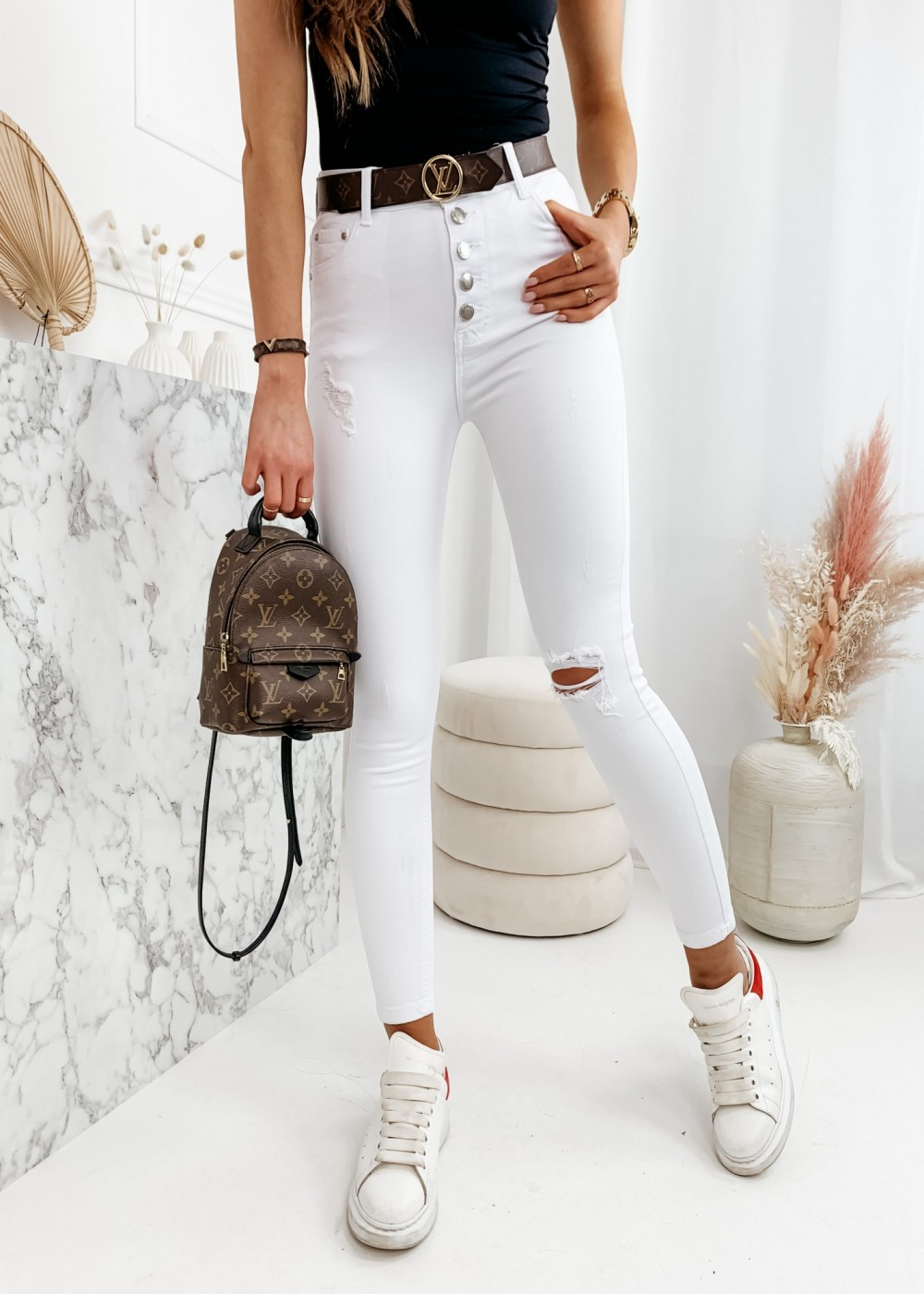 JEANSY CLASSIC - white