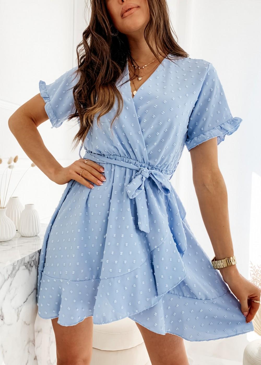 SUKIENKA RIRI - baby blue