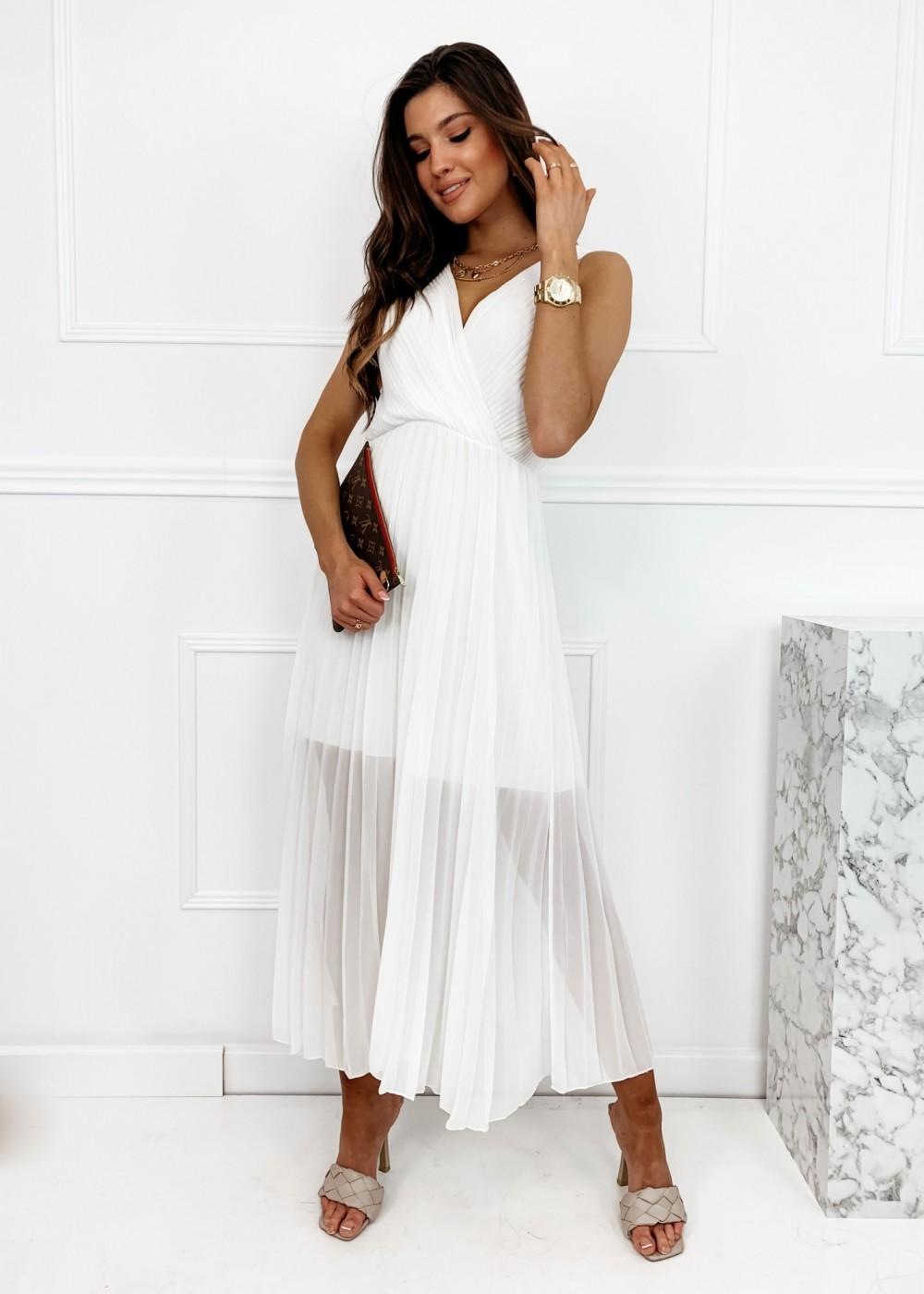 SUKIENKA MAXI BRIDE - white