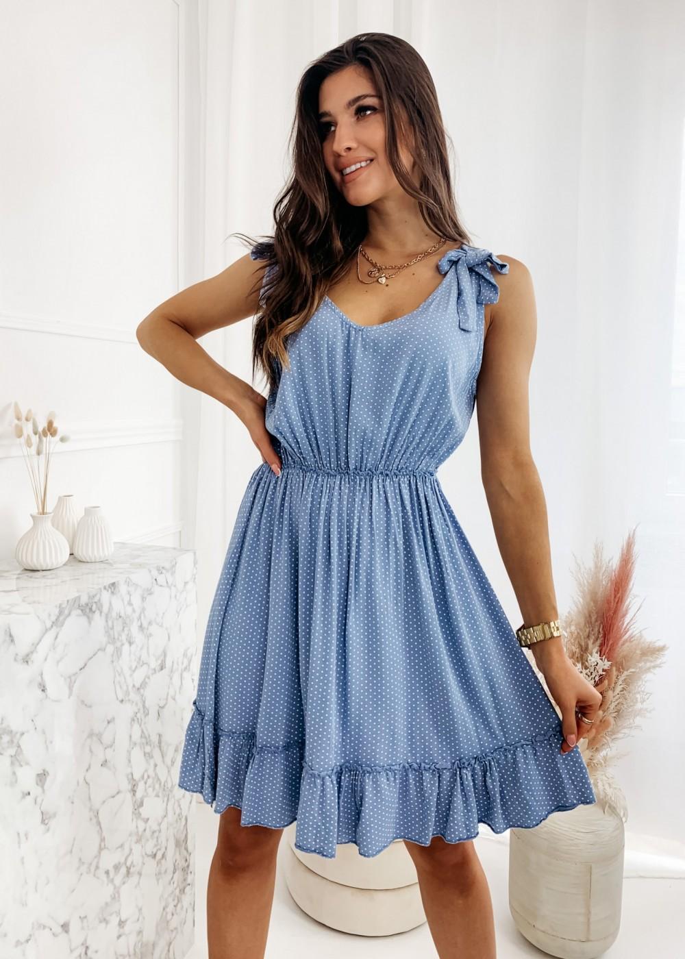 SUKIENKA ANGEL - blue