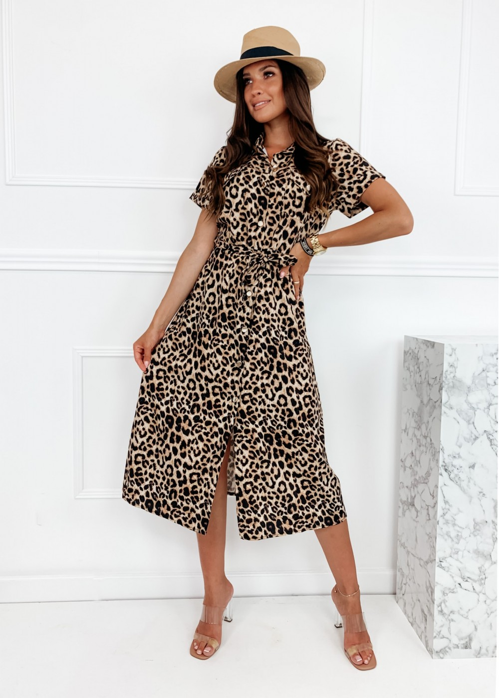 SUKIENKA TEDI - leopard