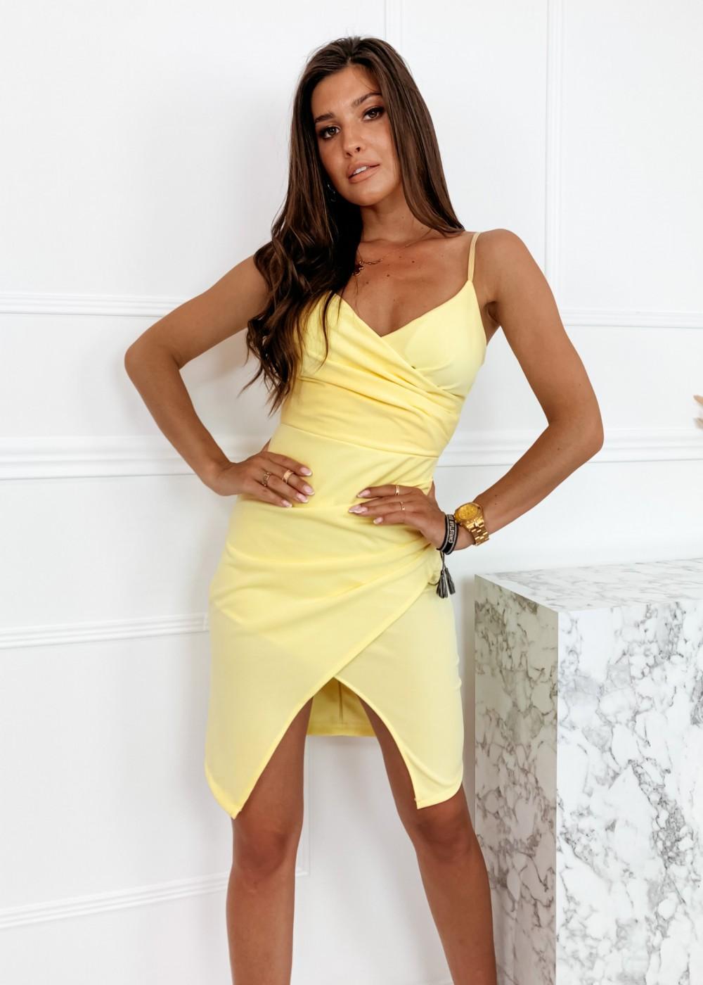 SUKIENKA MERCI - yellow