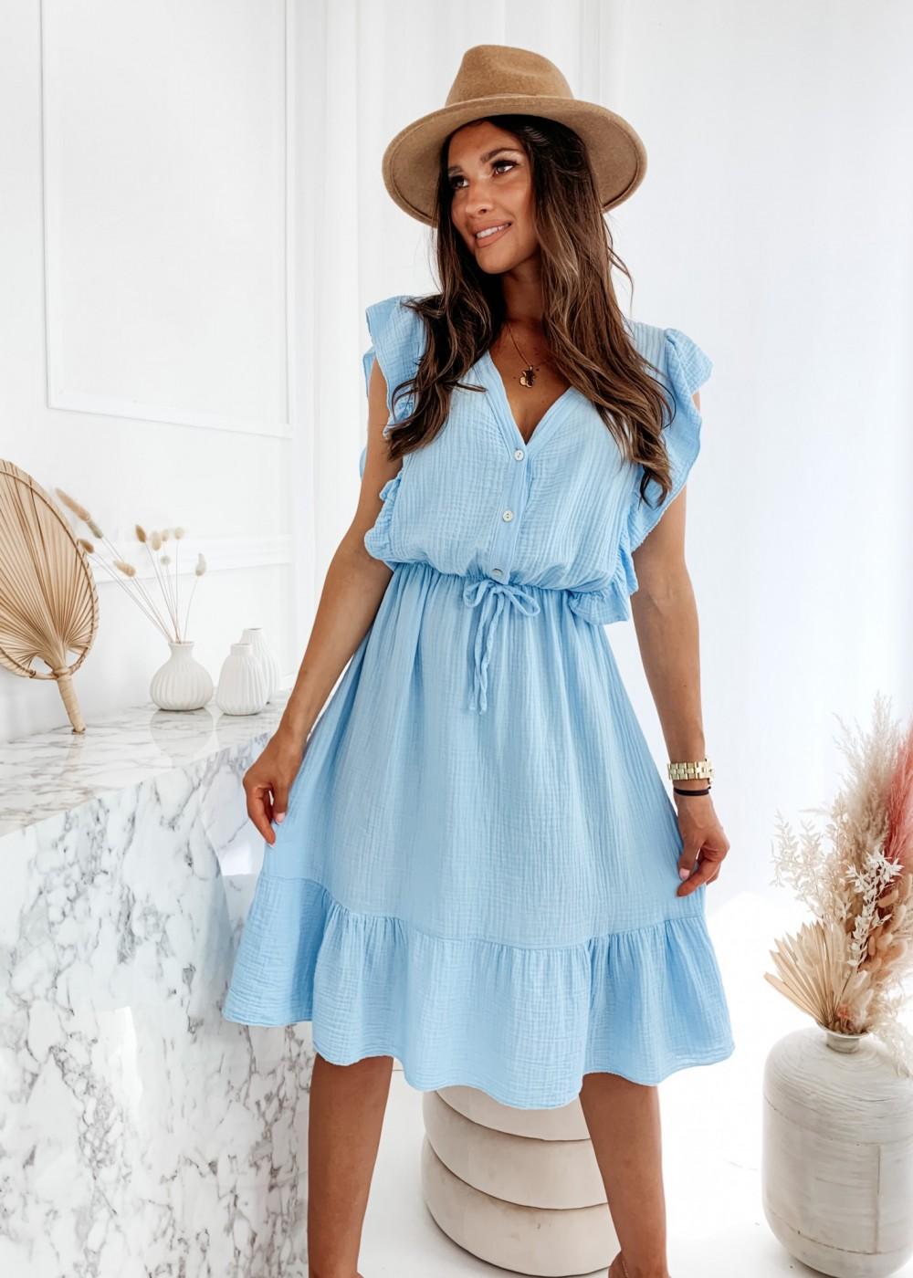 SUKIENKA MARCIANO - baby blue