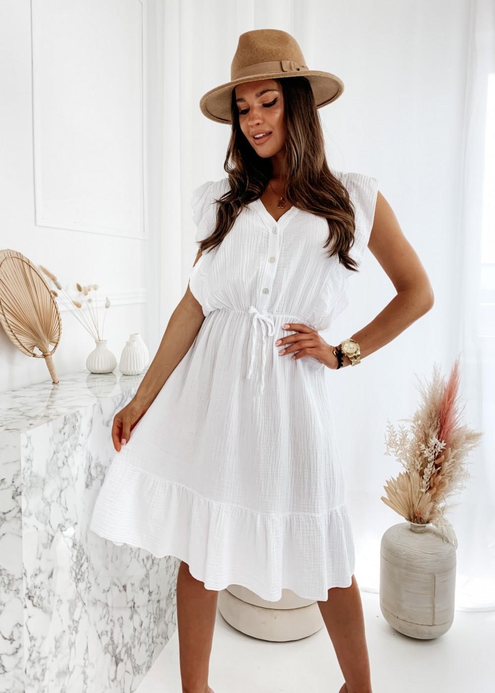 SUKIENKA MARCIANO - white