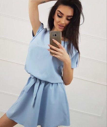 SUKIENKA EMMA - baby blue