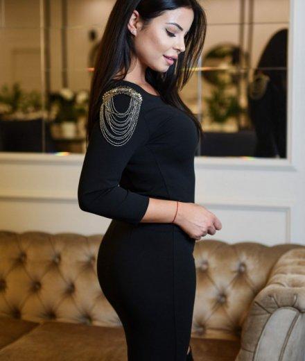 SUKIENKA EVA - czarna