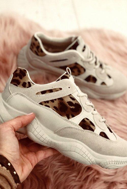 Adidasy Ballini Leopard