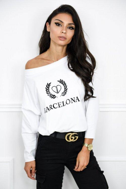BLUZKA BARCELONA - biała