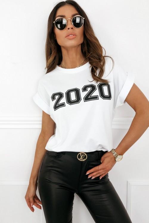 T-SHIRT 2020 - white