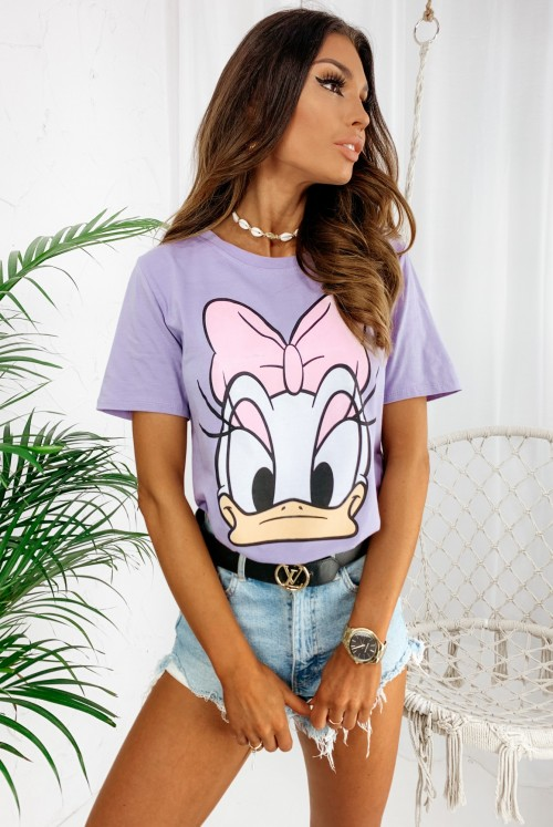 T-SHIRT DONALD - lila