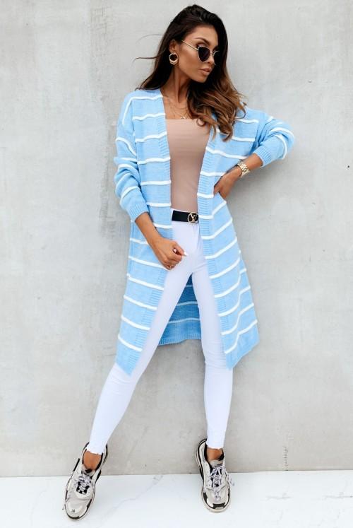 KARDIGAN MOLLY - niebieski
