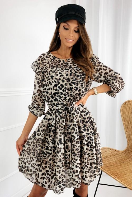 SUKIENKA HOLI - leopard