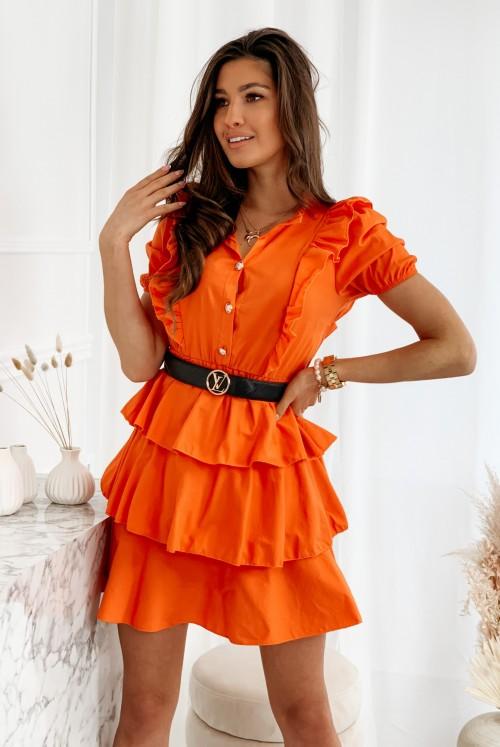 SUKIENKA HAMPAGE - orange