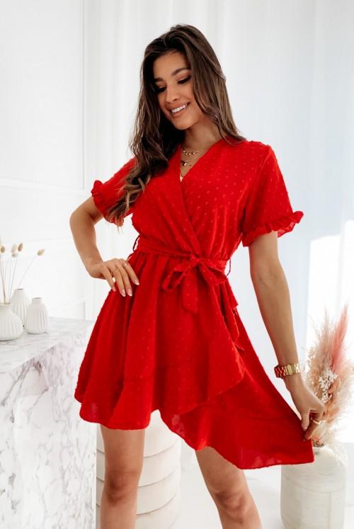 SUKIENKA RIRI - czerwona