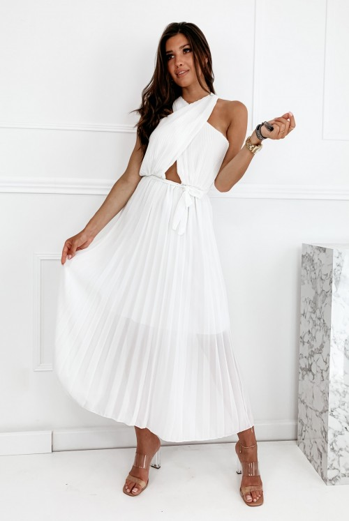 SUKIENKA FLORENCE - white
